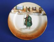 Royal Doulton 'Tony Weller' Dickens Ware Series 'A' Large Rack Plate D2973 c1920